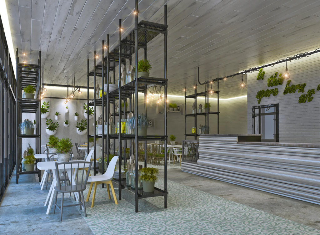 Restaurant Design Concept - Recycling and Reusing