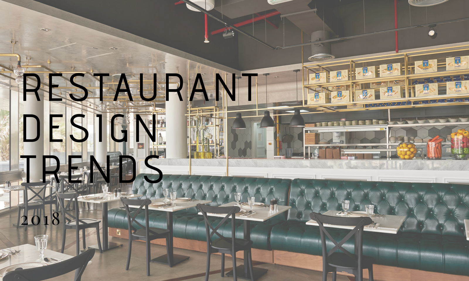 Top restaurant design trends