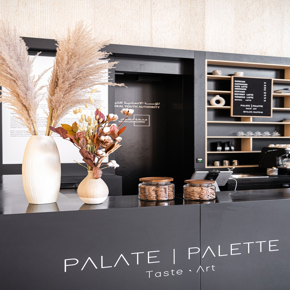 Palette Specialty Coffee Shop - Counter Image
