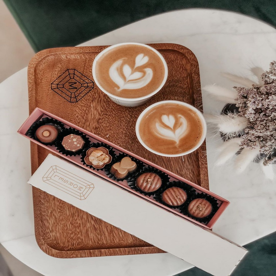 Morsel - Handcrafted Artisan Chocolate Concept in Abu Dhabi - Image of Chocolate and Coffee