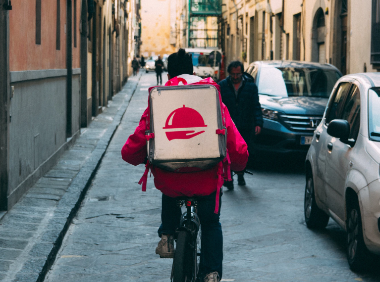 Delivery Bike - Glee Blog Cover